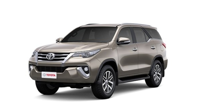 Toyota  Fortuner Avant-Garde Bronze Colour