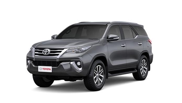 Toyota  Fortuner Grey Metallic Colour