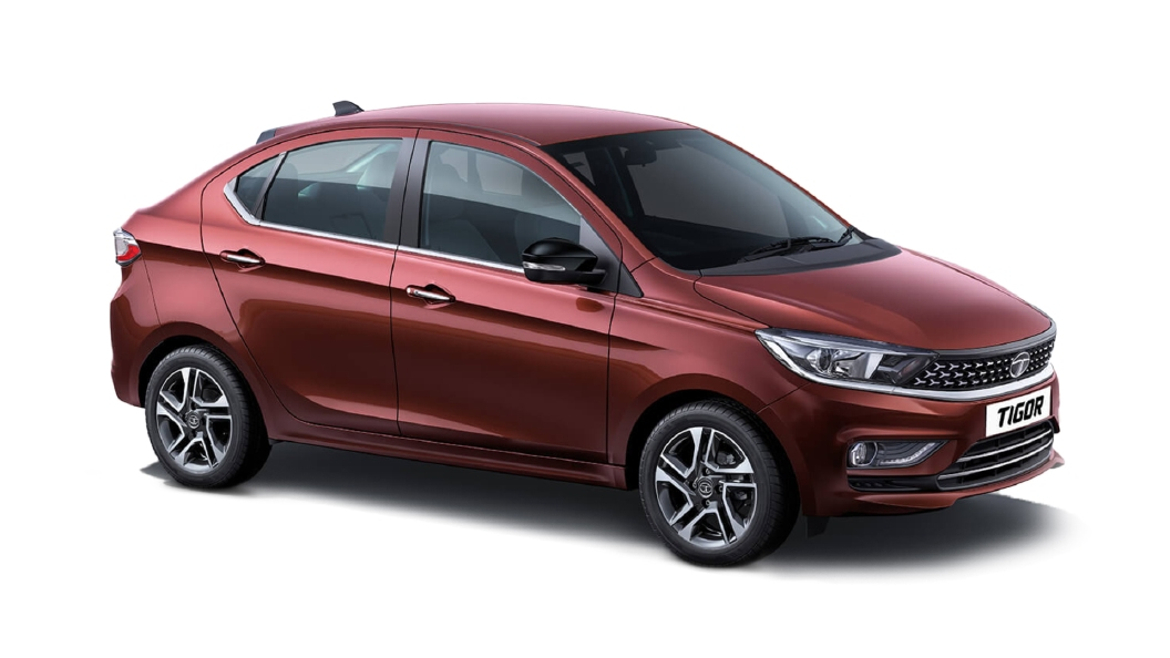 Tata  Tigor Deep Red Colour