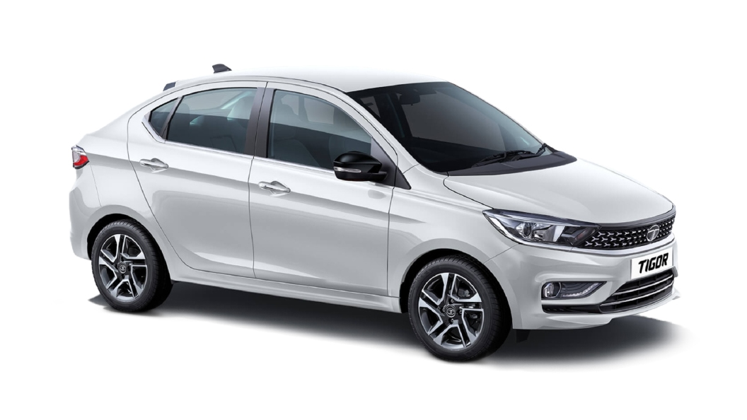 Tata  Tigor Pearlescent White Colour