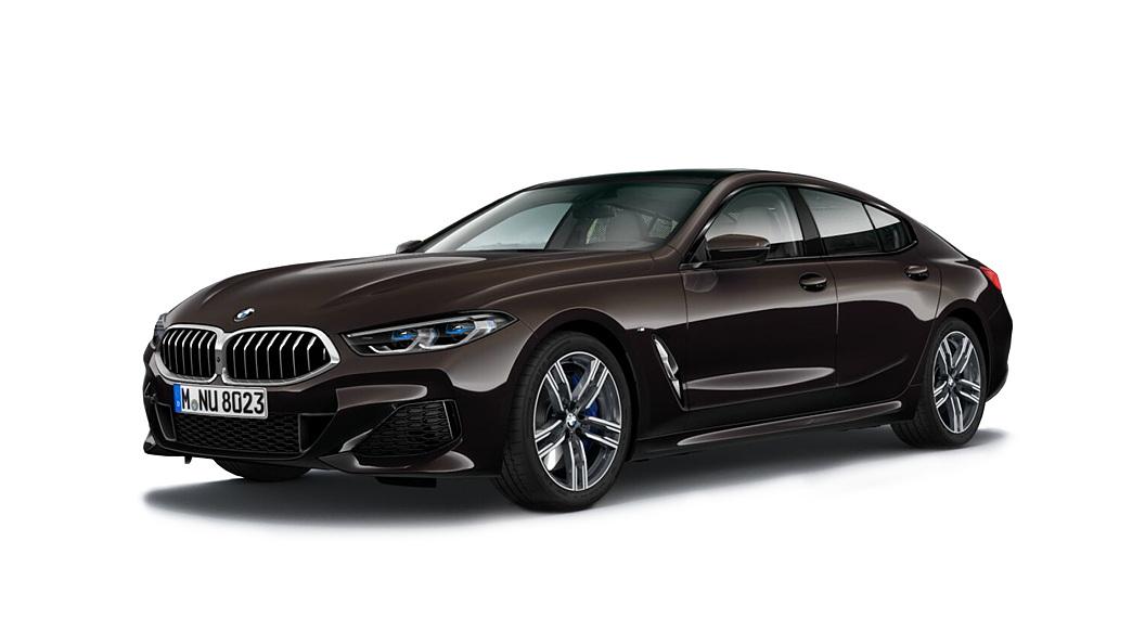 BMW  8 Series Almandine Brown Metallic Colour