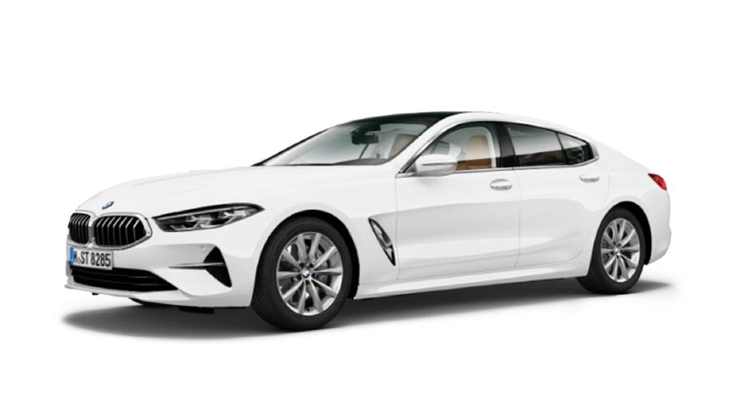 BMW  8 Series Alpine White Colour
