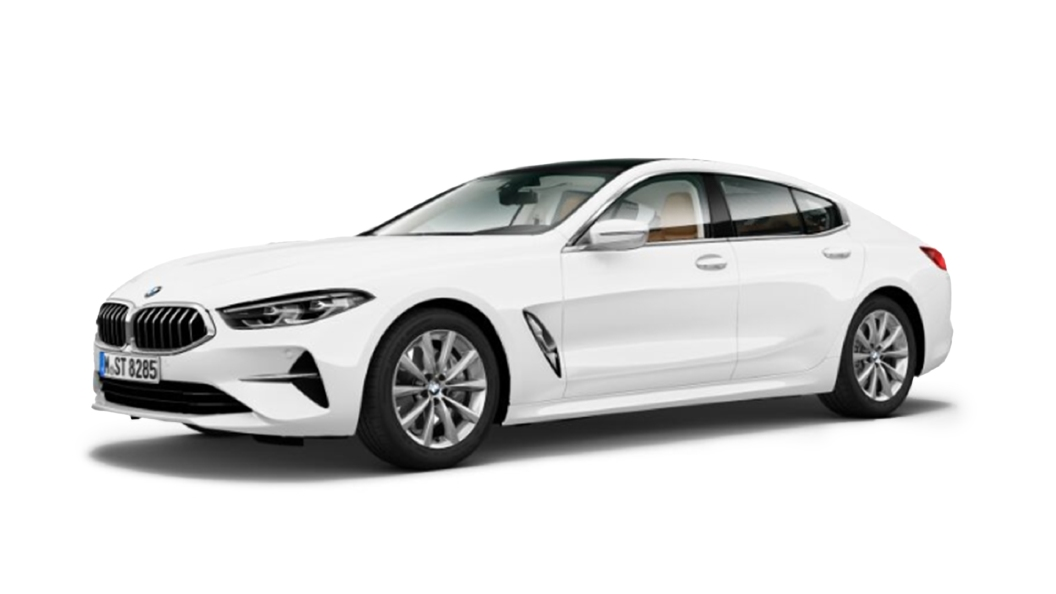 BMW  8 Series Alpine White Colour