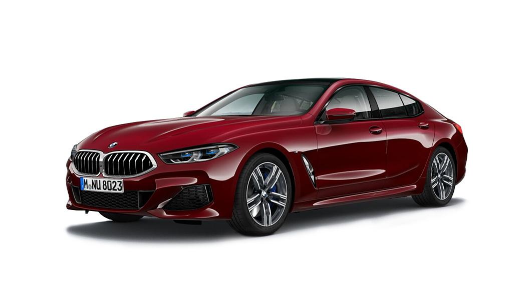 BMW  8 Series Aventurine Red Metallic Colour