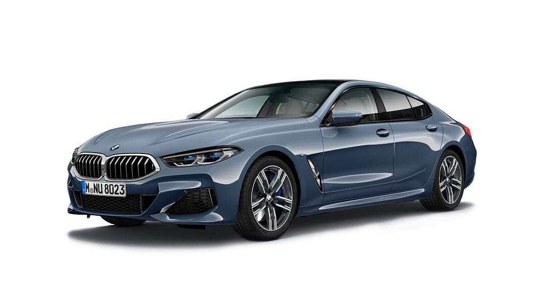 BMW  8 Series Barcelona Blue metallic Colour
