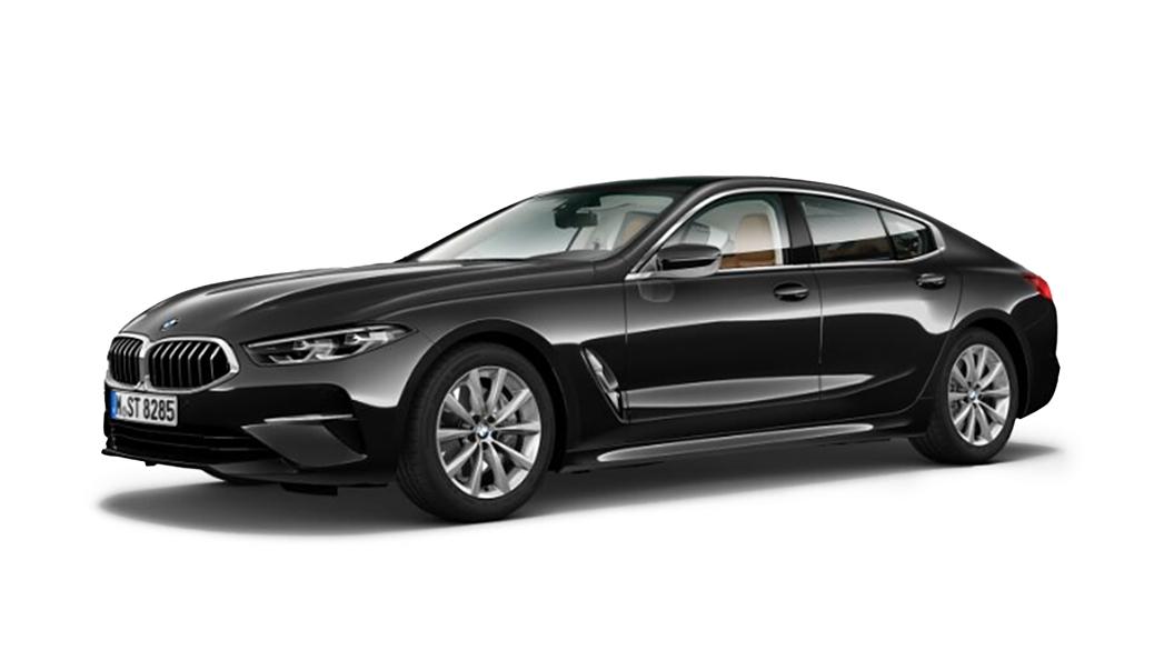 BMW  8 Series Black Sapphire metallic Colour