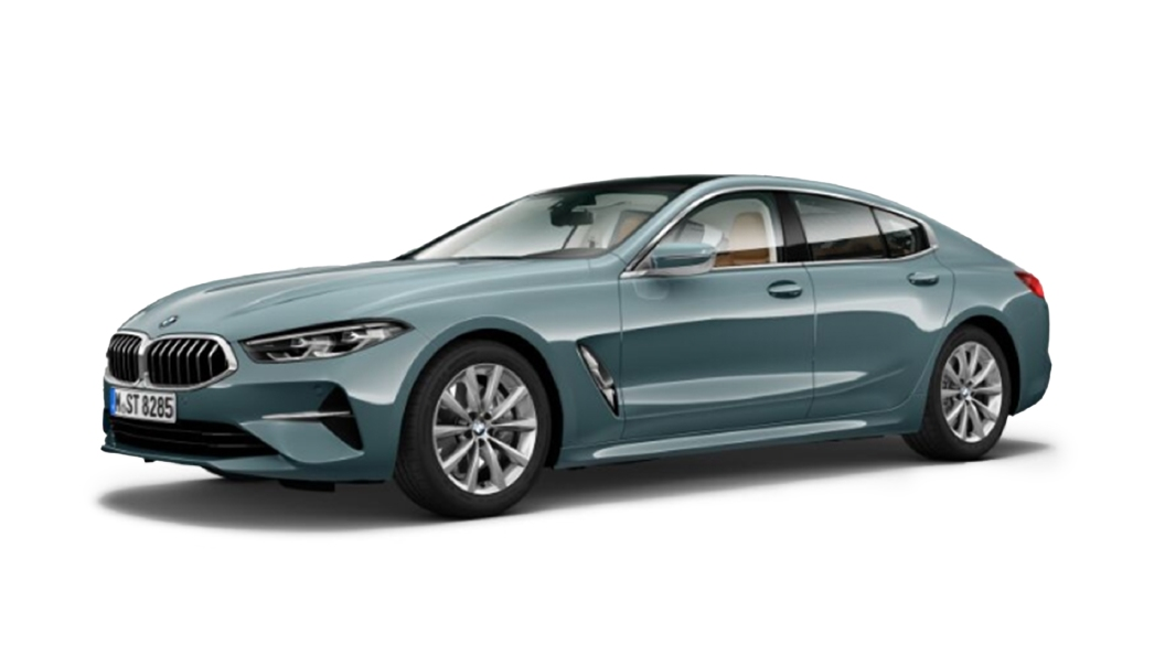 BMW  8 Series Blue Ridge Mountain Colour
