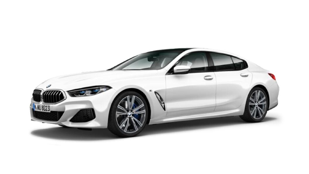 BMW  8 Series Brilliant White Metallic Colour