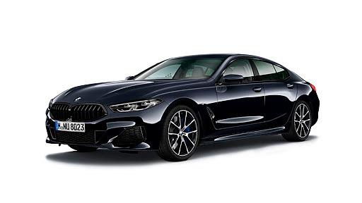BMW  8 Series Carbon Black Metallic Colour