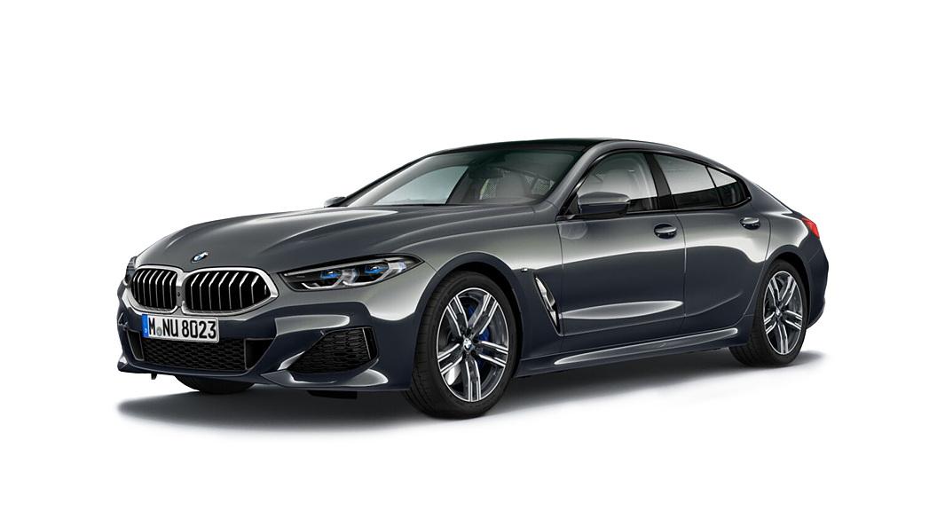 BMW  8 Series Dravit Grey Metallic Colour