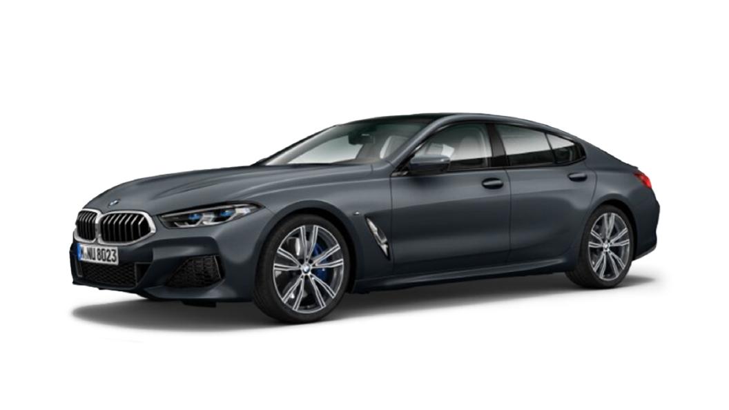 BMW  8 Series Frozen arctic Grey metallic Colour
