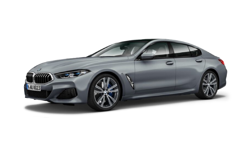 BMW  8 Series Frozen Bluestone Metallic Colour