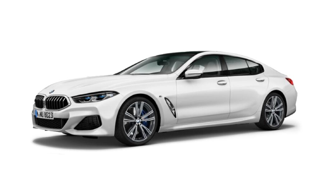 BMW  8 Series Frozen Brilliant White Metallic Colour