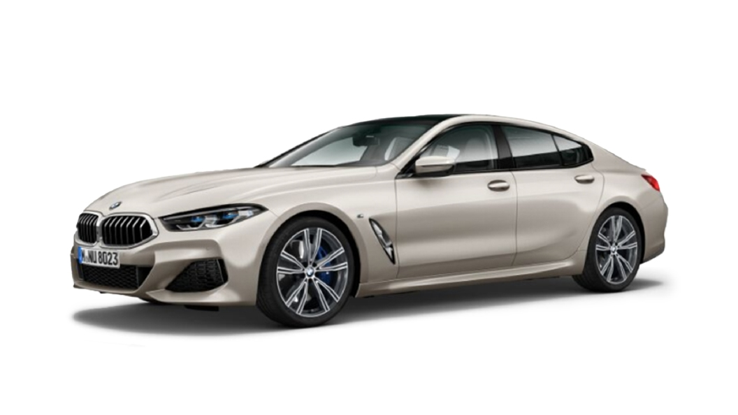 BMW  8 Series Frozen Cashmere Silver metallic Colour