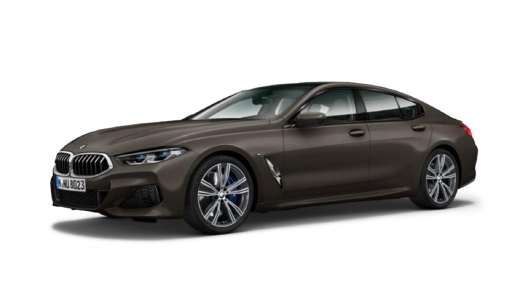 BMW  8 Series Frozen Dark Brown metallic Colour