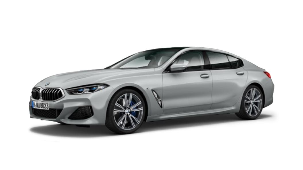 BMW  8 Series Frozen Dark Silver Colour