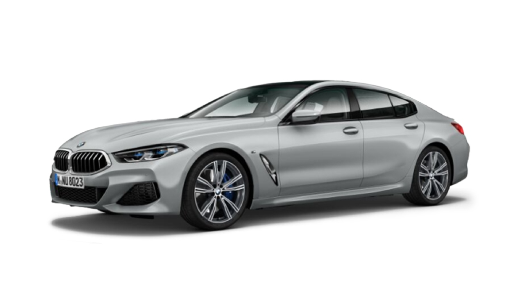 BMW  8 Series Frozen Dark Silver Colour