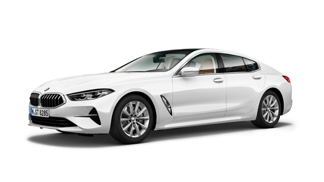 BMW  8 Series Mineral White metallic Colour