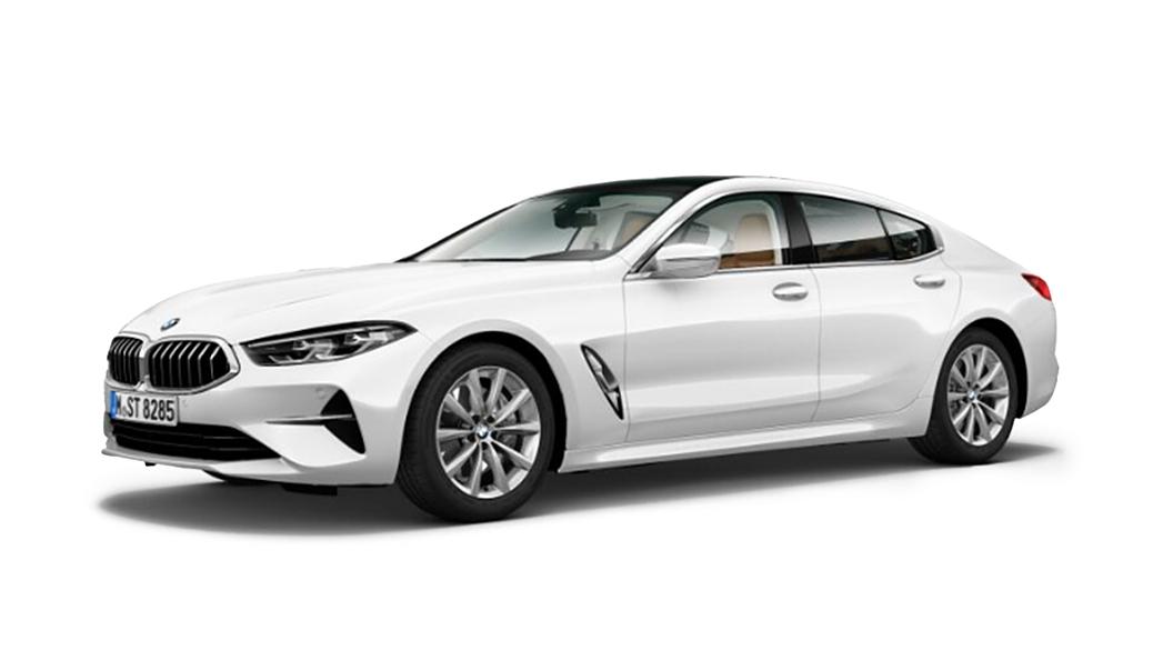 BMW  8 Series Mineral White metallic Colour