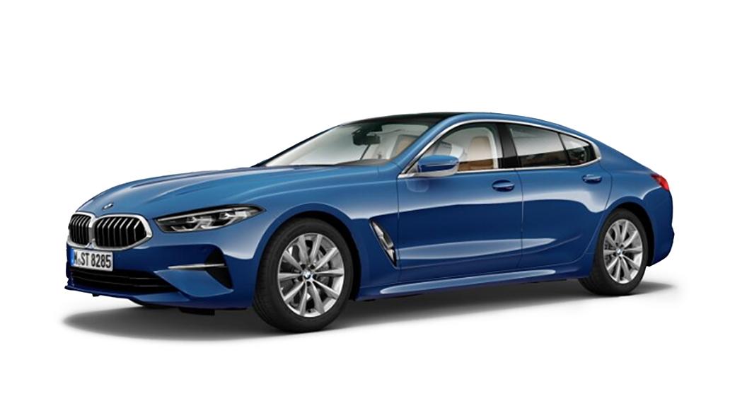 BMW  8 Series Sonic Speed Blue metallic Colour