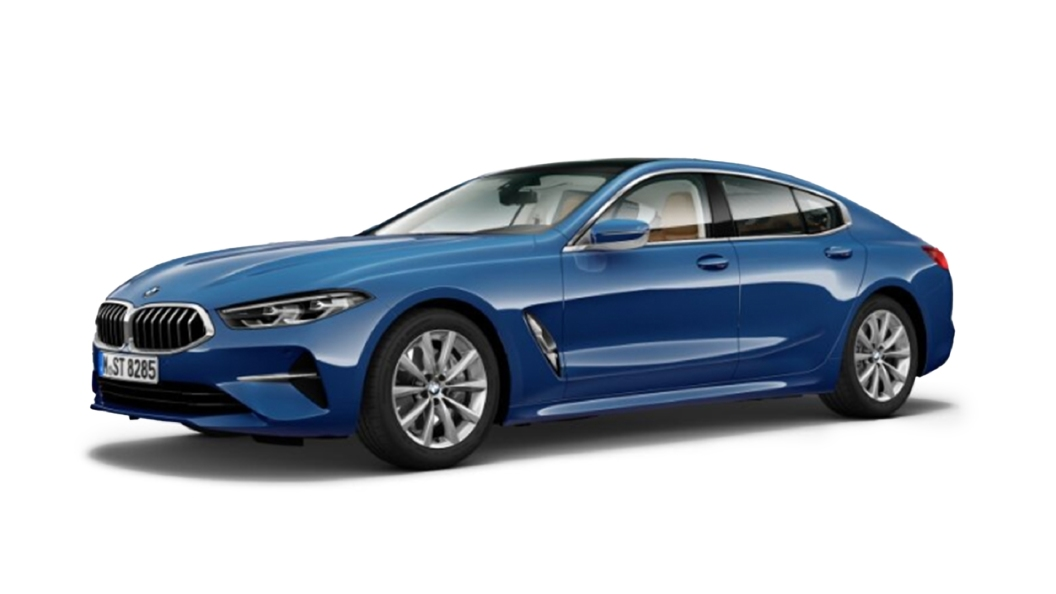 BMW  8 Series Sonic Speed Blue Colour