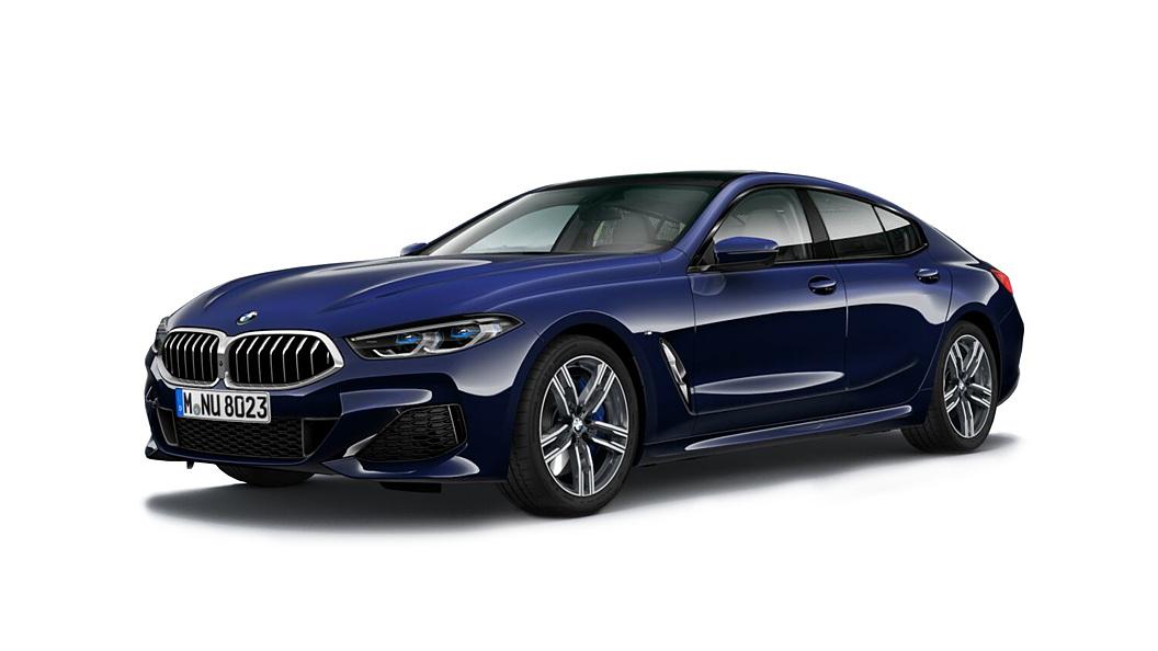 BMW  8 Series Tanzanite Blue Metallic Colour