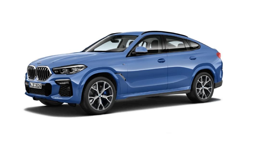 BMW  X6  Riverside Blue Metallic Colour