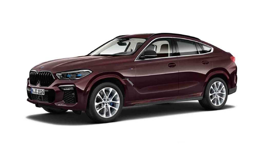 BMW  X6 Ametrine Metallic Colour