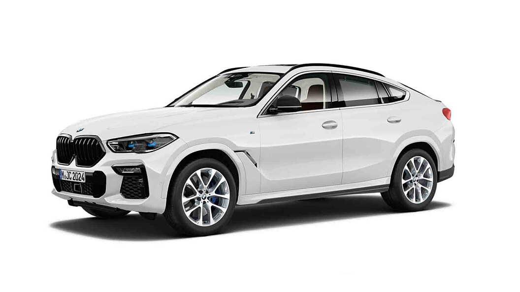 BMW  X6 Mineral White Metallic Colour