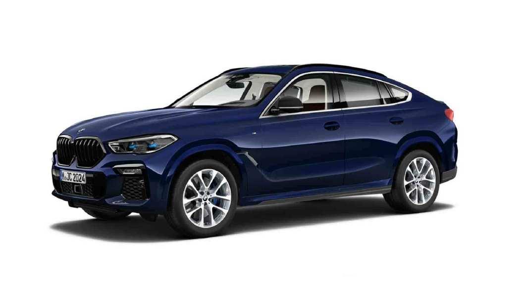 BMW  X6 Tanzanite Blue Colour