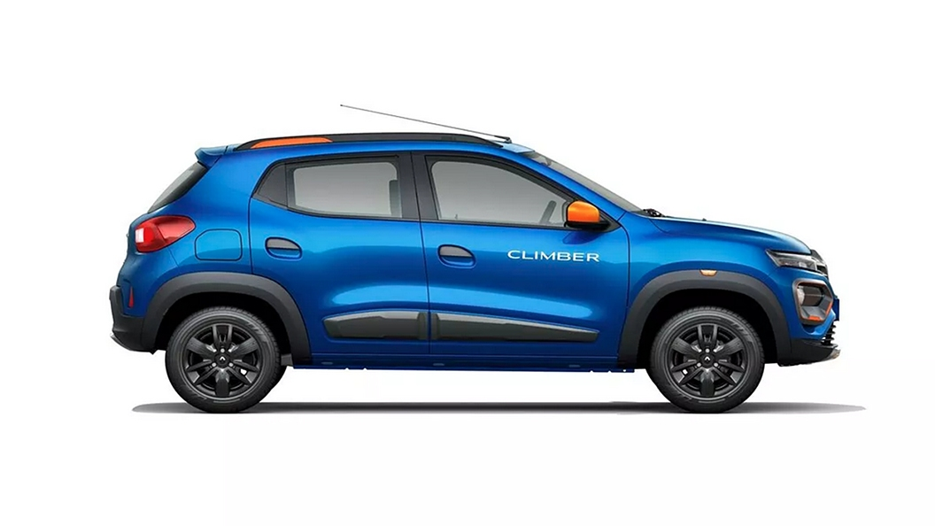 Renault  Kwid Electric Blue Colour