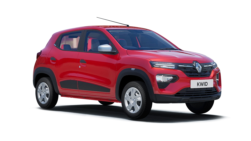 Renault  Kwid Fiery Red Colour