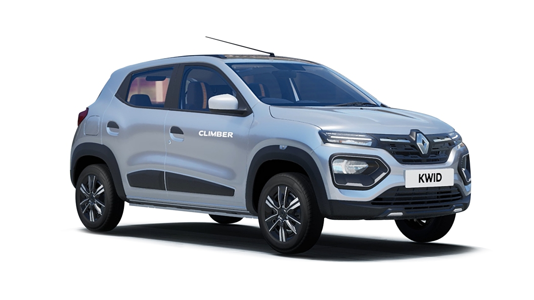 Renault  Kwid Moonlight Silver Colour