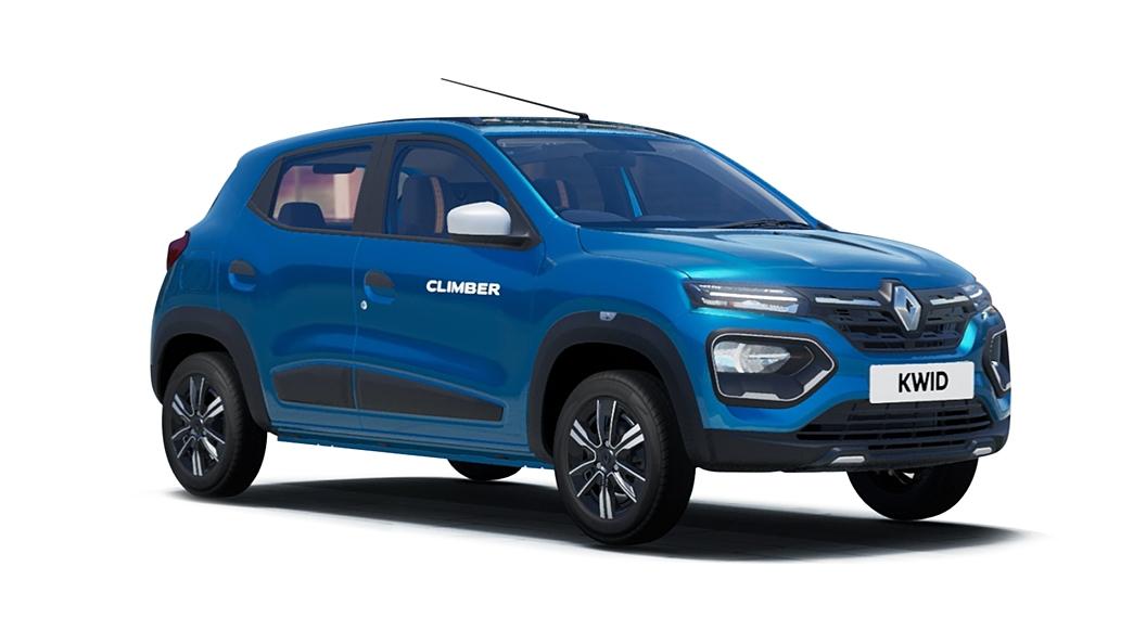 Renault  Kwid Zanskar Blue Colour