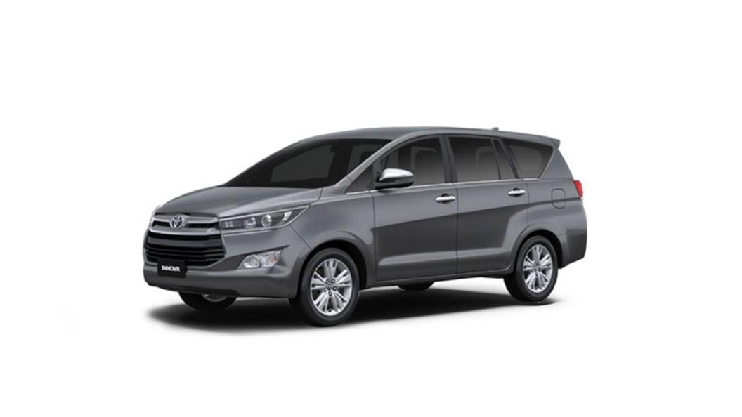 Toyota  Innova Crysta Grey Colour