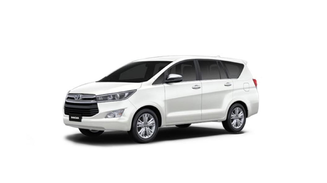 Toyota  Innova Crysta White Pearl Crystal Shine Colour