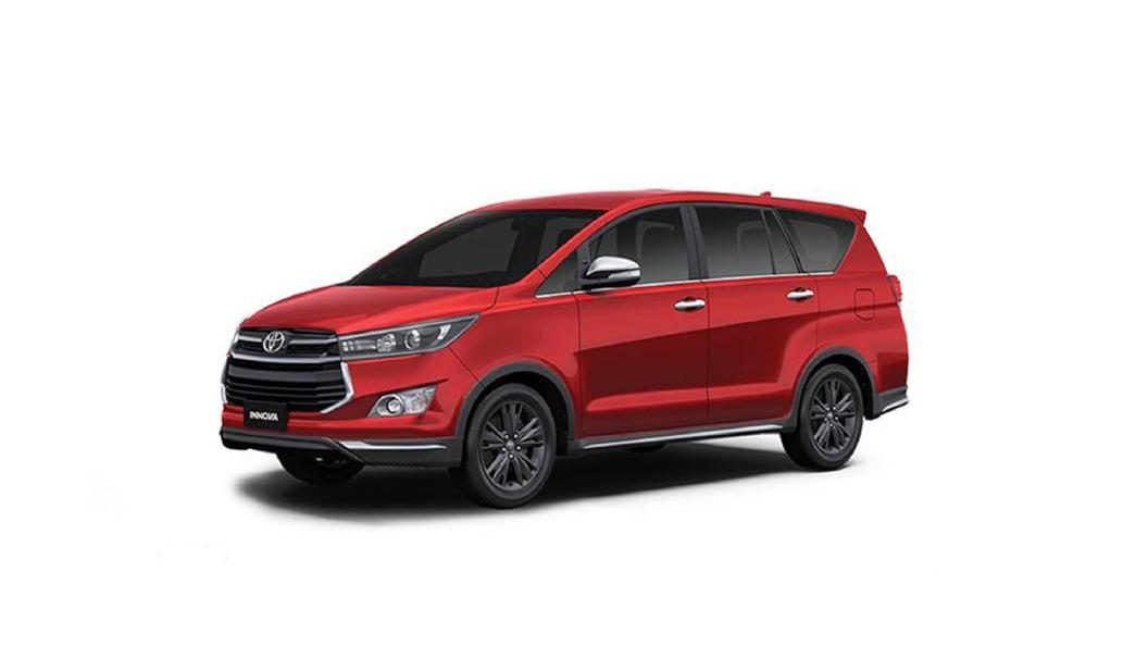 Toyota  Innova Crysta Wildfire Colour