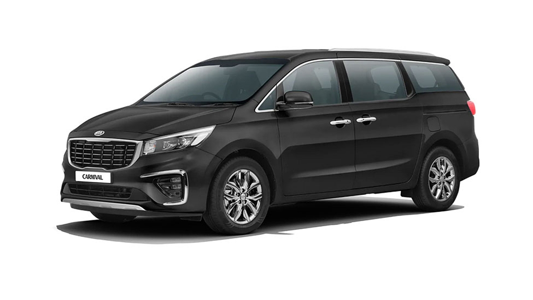 Kia  Carnival Aurora Black Pearl Colour