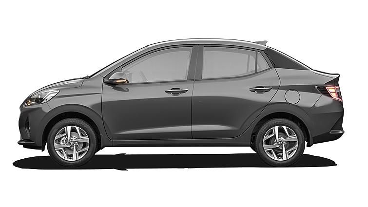 Hyundai  Aura Titan Grey Colour