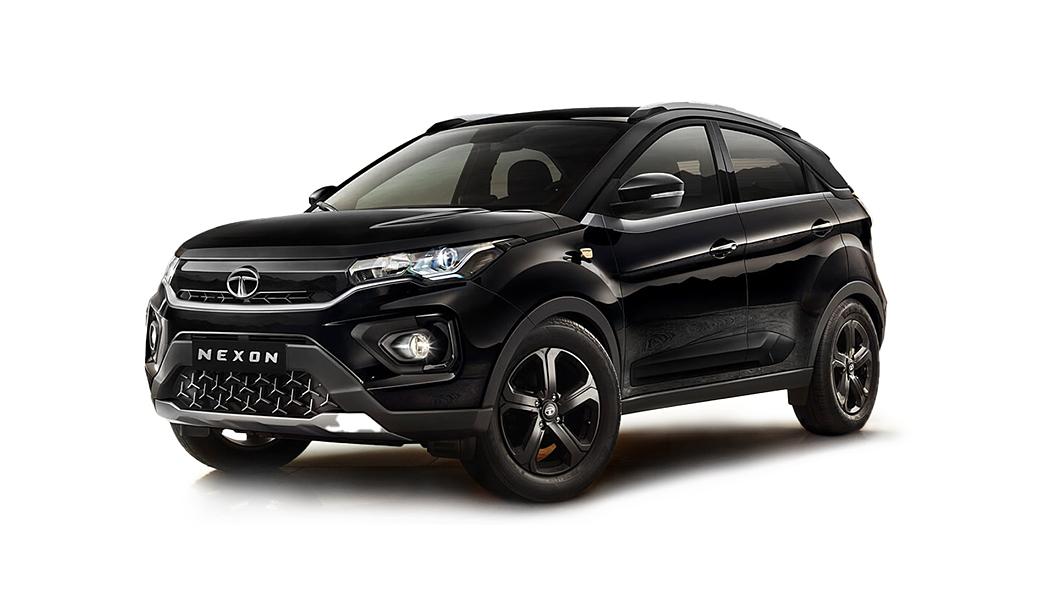 Tata  Nexon Atlas Black Colour