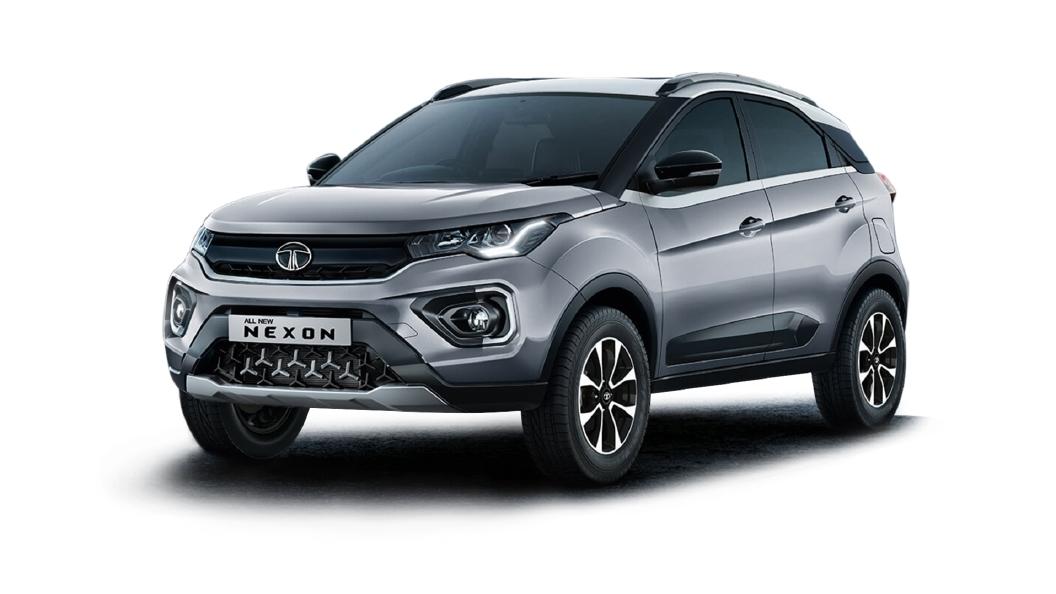 Tata  Nexon Pure Silver Colour