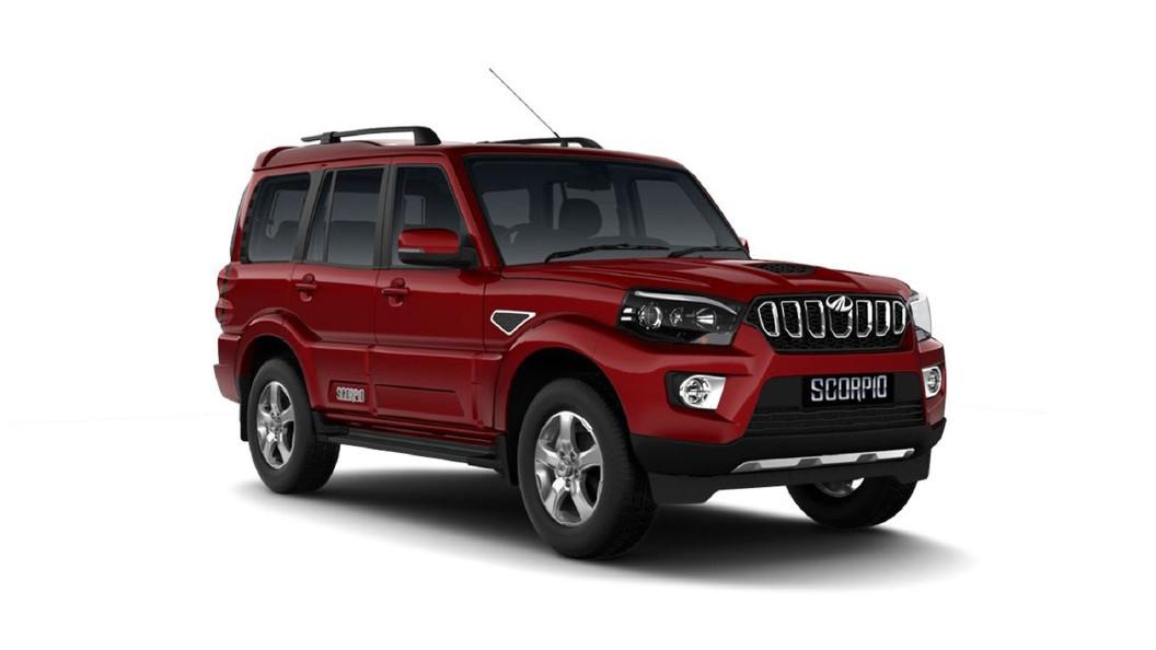 Mahindra  XUV700 Molten Red Colour