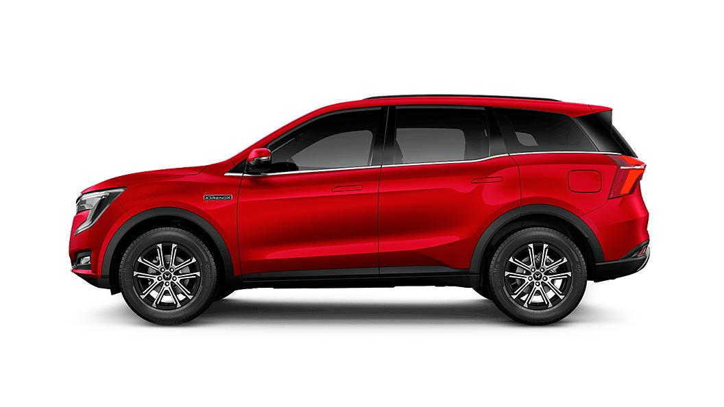 Mahindra  XUV700 Red Rage Colour