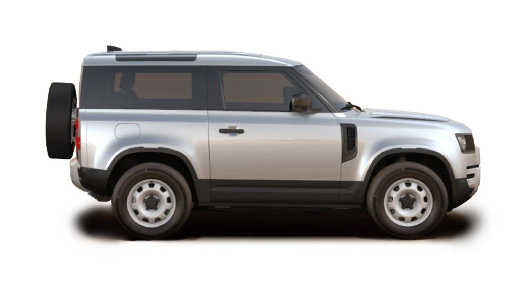 Land Rover  Defender Indus Silver Metallic Colour