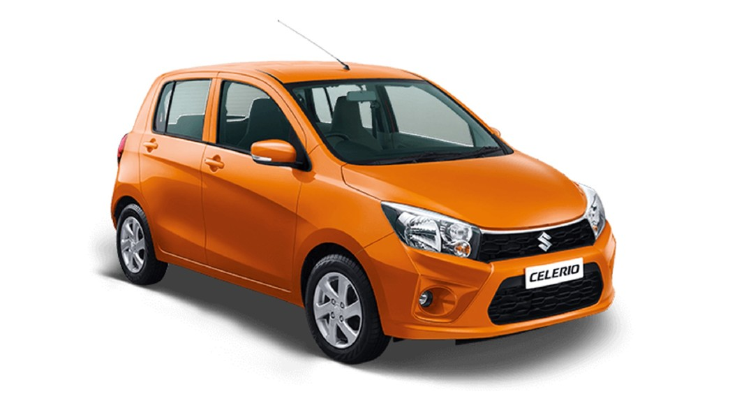 Maruti Suzuki  Celerio Tango Orange Colour