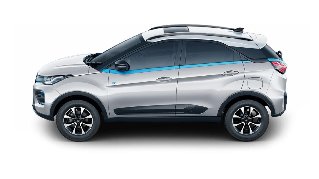 Tata  Nexon EV Moonlit Silver Colour