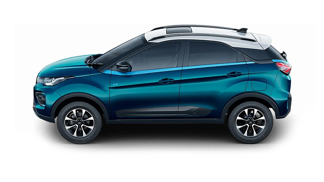 Tata  Nexon EV Signature Teal Blue Colour