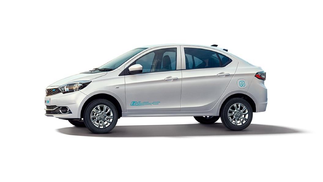 Tata  Tigor EV Pearlescent White Colour