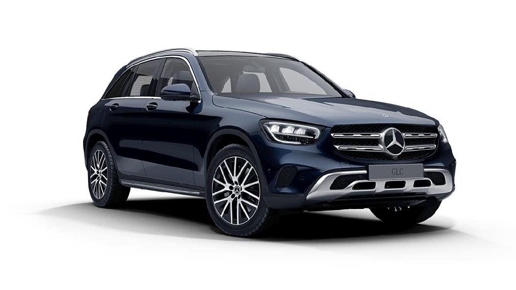 Mercedes Benz  GLC Cavansite Blue Colour