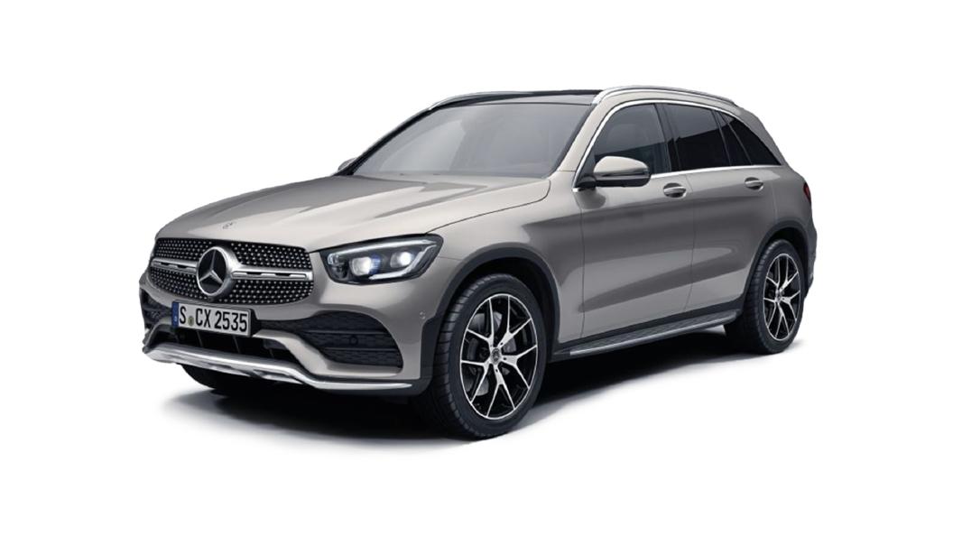 Mercedes Benz  GLC Mojave Silver Colour